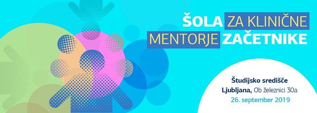 Šola za klinične mentorje začetnike